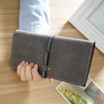 Ultra-thin Genuine Leather Women Wallet Long Lady Purse Card HolderPhone Coin Pocket Purse Female