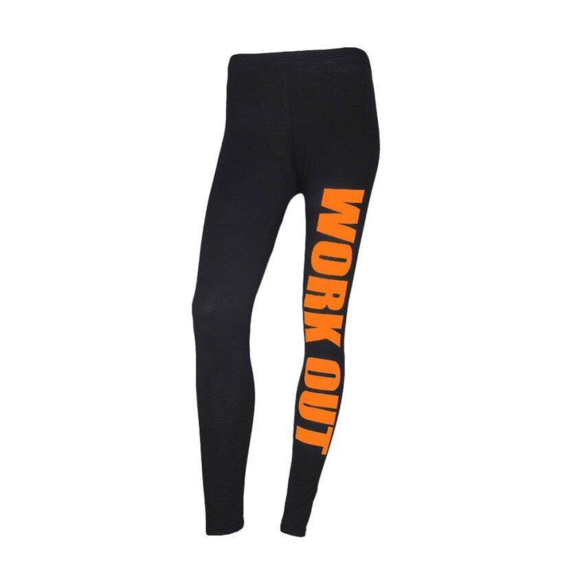 Women Running Sport Pants Black