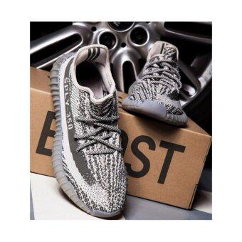 1:1 Real Yeezy Boost 350 V2 Sply Orange Grey