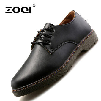 ZOQI Summer Man's Formal Low Cut Shoes Fashion Casual ComfortableShoes-Black.