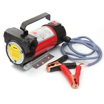 12V Portable Diesel Oil Transfer Pump - 40L/min