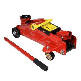2 Ton Heavy Duty Hydraulic Floor Jack + free gift (1set Stanley 2pcs Cushion Grip(TM) Magnetic Tip Screwdriver)