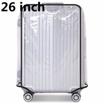 26 inch PVC Transparent Travel Luggage Protector Suitcase Cover Usable Waterproof fashionable