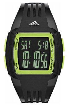Adidas Performance ADP3171 Duramo Mid Sized Black Resin Strap Unisex Watch (Black)