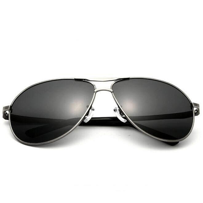 Mens Sunglasses Polarized  aluminum magnesium mens sunglasses polarized sun glasses silver