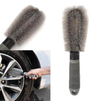 AUTO Car Motorcycle Wheel Tire Tyre Rim Cleaning Brush ScrubbingDust Cleaner