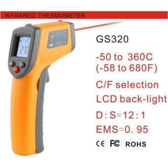 Benetech GS320 Contact Laser Thermometer -50~360 C (-58~680 F Non)Infrared Digital