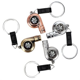 Bronze Turbo Keychains Auto Key Rings Vintage Decor for BMW KeyChain Car Styling Accessories for Automotive