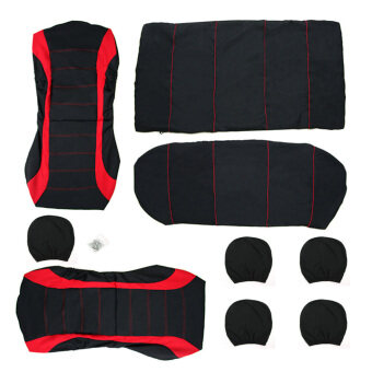 Car Seat Cover Universal Fit Car Styling Car Cover Seat Protector(Red)