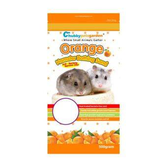 Chubbypetsgarden(R) Hamster Bathing Sand Orange 500g