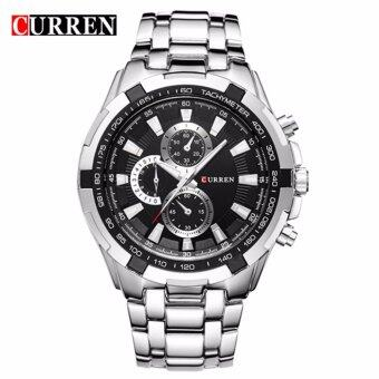 curren 8023 mens silver black stainless steel watch lazada curren 8023 men s silver black stainless steel watch