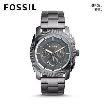 FOSSIL MACHINE CHRONO STAINLESS STEEL WATCH