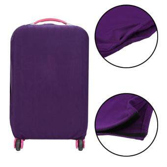 GOOD Travel High Elastic Solid Color Dust-proof Luggage Suitcase Protective Cover