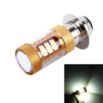 H6/P15D 15W 1300 LM 6500K Motorcycle Headlight With 28 SMD-3030-LEDLamps, DC 12V (White Light)