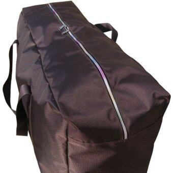 Large Duffel Bag Heavy Duty Cargo Travel Bag Sports Gear Equipment70cm Foldable Luggage Transport Black