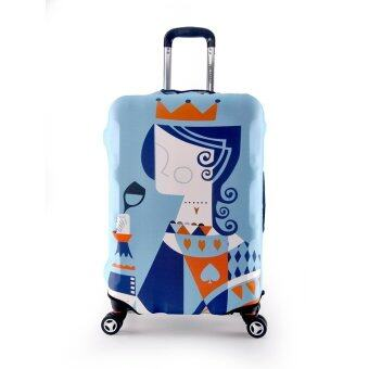 Luggage Protector Cover Travel Suitcase Standard Handle - Queen