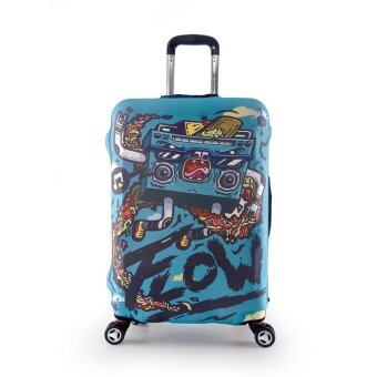 Luggage Protector Cover Travel Suitcase Standard Handle - Radio
