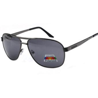 mens polarized sunglasses 39vt  Mens Pilot Sunglasses Men Polarized Pilot Sun Glasses Black Color Brand  Design