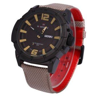 Naviforce 9066 Male Watch Calendar 3D Dial Analog 4