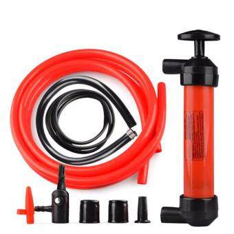 Newest 1Pcs Portable Manual Oil Pump Hand Siphon Tube Car HoseLiquid Gas Transfer Sucker Suction High Quality Inflatable Pump