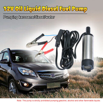 Oil Liquid Diesel Fuel Water Pump 12V Transfer Pump Water Oil FluidRefuel.