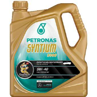 Petronas Syntium 3000 Fully Synthetic Engine Oil API SN 5w-40 (4L)