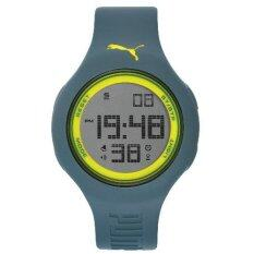 puma watches for the best prices in puma pu910801043 loop l grey yellow digital men watch
