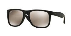 rayban eyewear iezp  RAY-BAN JUSTIN LIGHT BROWN MIRROR GOLD Lenses RB4165F 622/5A MAN SUNGLASS