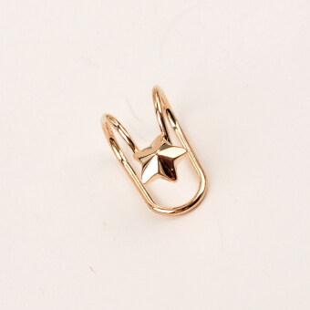 Style female ear bone ring ear clip