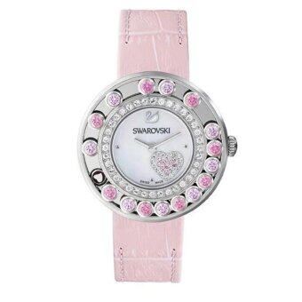 Swarovski Lovely Crystals Pink Leather Watch