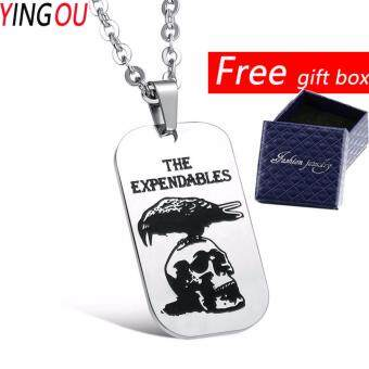 US Army Military Personalized Pendant Necklace Personalized Retro Stainless Steel Necklace 935