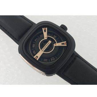 Watches Arabic hour markers Model SevenFriday M-Series - Black Leather Strap