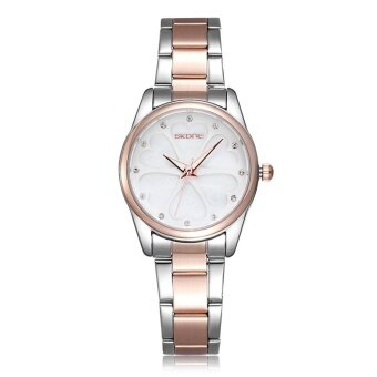 Wholesale SKONE 5048 Brand Women Dress Watch Jam Tangan es Heart Rhinestone Rose Gold Fashion Watch Jam Tangan Ladies Quartz-Watch Jam Tangan Girls WristWatch Jam Tangan 2016 Gift for her