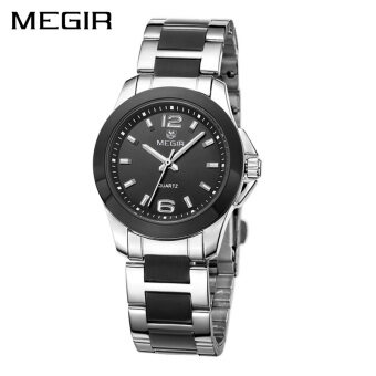 Wholesaler MEGIR MS5006L Women Watch Jam Tangan es Luxury Couple Dress WristWatch Jam Tangan Montre Femme Quartz Ladies Watch Jam Tangan for Lovers