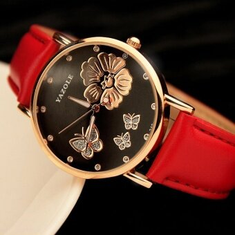 YAZOLE WristWatch Jam Tangan Women Ladies Brand Famous Female WristWatch Jam Tangan Clock Quartz Watch Jam Tangan Girl Quartz-Watch Jam Tangan Montre Femme Feminino 326