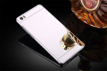 Aluminum metal frame pc mirror back cover case for for Mirror xiaomi to pc