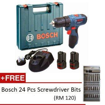 bosch gsr 1080 2 li cordless drill 10 8v professional. Black Bedroom Furniture Sets. Home Design Ideas