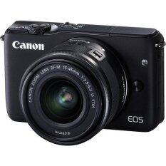Canon EOS M10 Mirrorless Digital Camera 18MP with 15-45mm Lens (Black)