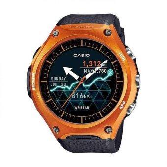 casio wsd f10 orange outdoor smart watch android wear