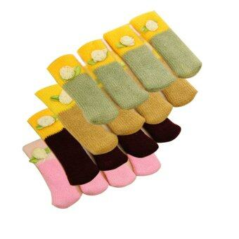 Chair Leg Floor Protectors Wool Cover Table Scratch Furniture Viskey ...