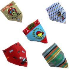 Cotton Velcro Bandage Baby Bib for Baby Boy