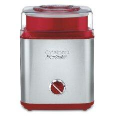 Cuisinart ICE-30R Pure Indulgence Frozen Yogurt Sorbet & Ice Cream Maker (Red)