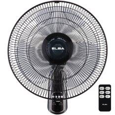 Elba EWMF-E1646RC BK 16 Inch Wall Fan with Remote (Black)