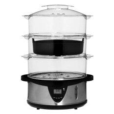 ELBA Food Steamer EFS-1149 Black