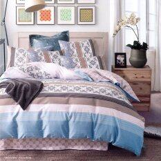 Essina Contempo Collection 620TC Bed Sheet Set with  40cm Mattress (Gipsy)