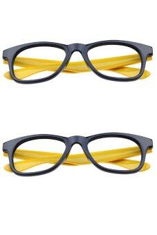 Fashion Plastic Glasses Frames without Lenses Eyeglasses ...