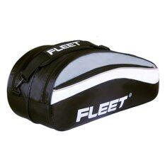 Fleet 2 Zips + Side + Shoe Compartment Bag FT302 Black
