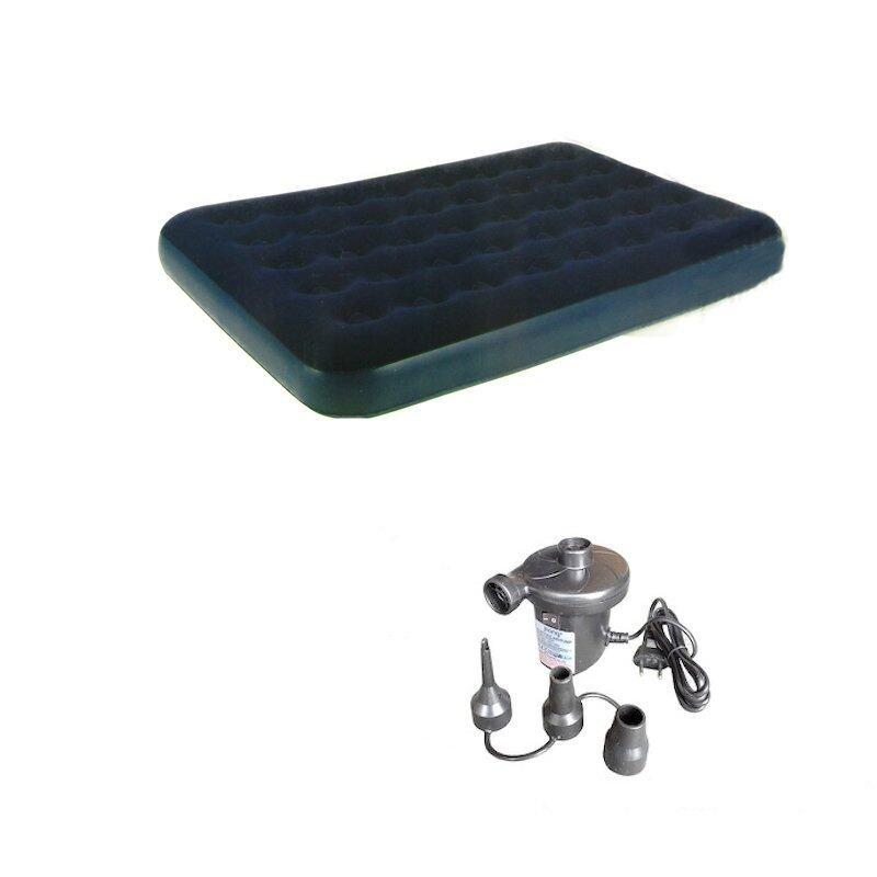 Jilong Inflatable Easigo Flocked Single Air Bed Mattress