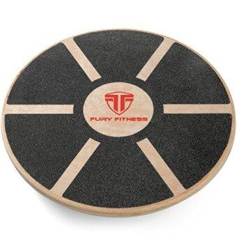 Fury Fitness Wooden Balance Board Round Made Of High