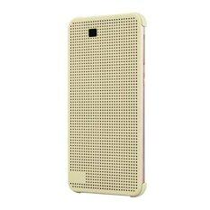 HTC Dot View Cover Case Compatible with HTC One E9+ (Gold)